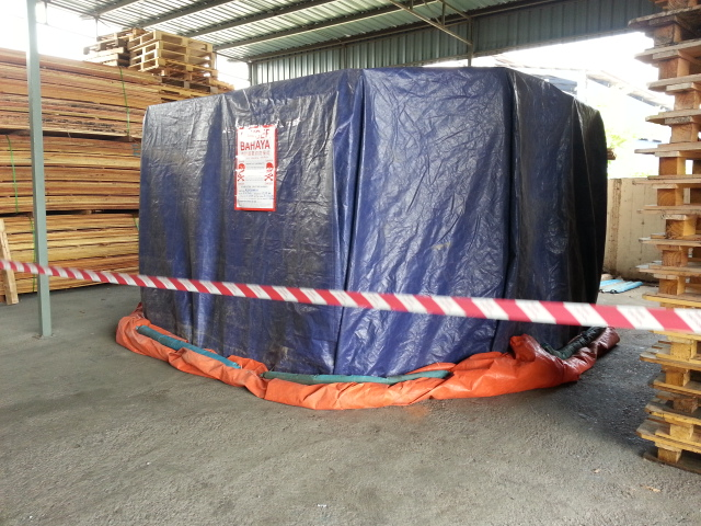 Fumigated Pallet